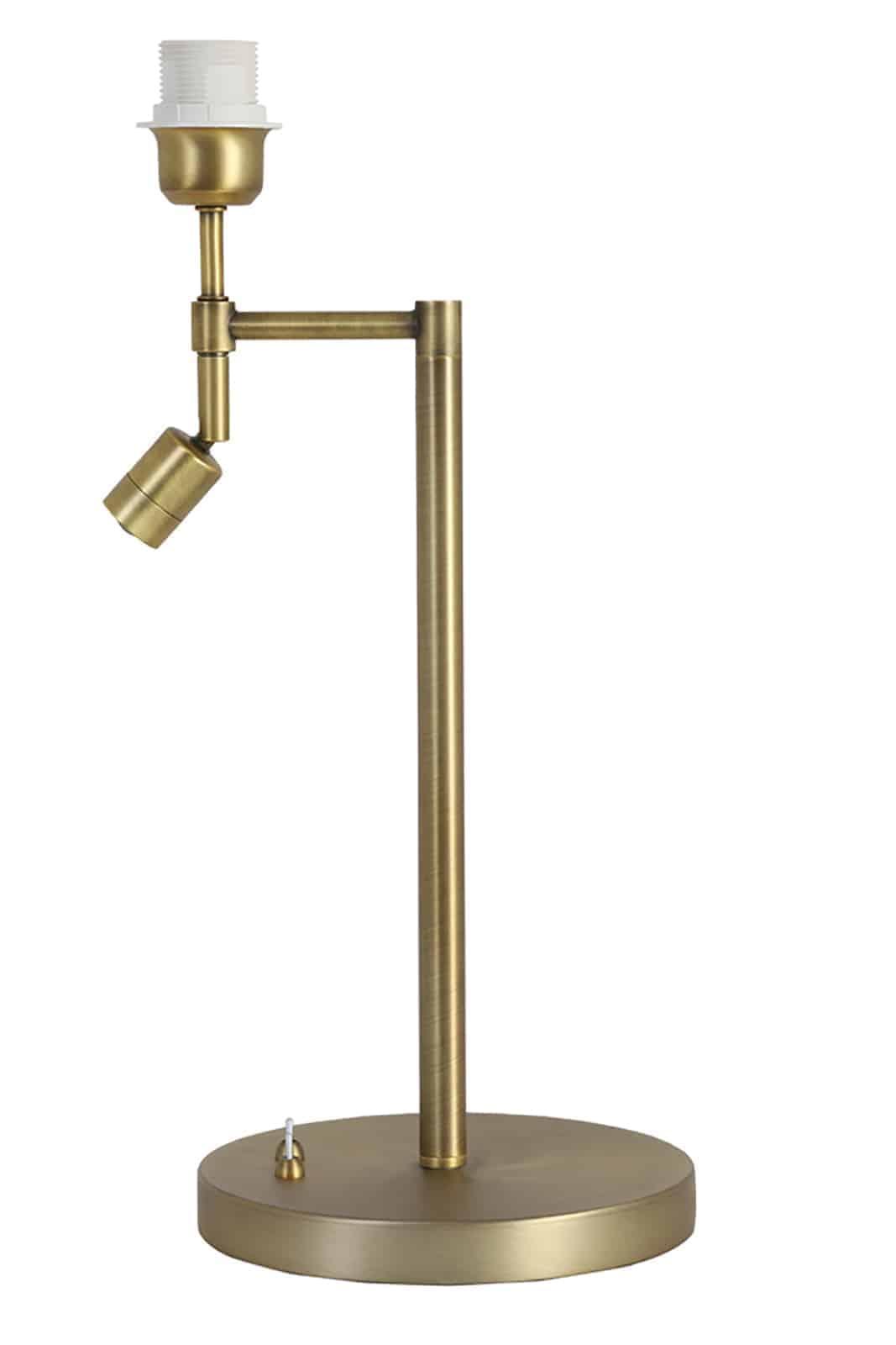 antique bronze lamp stick