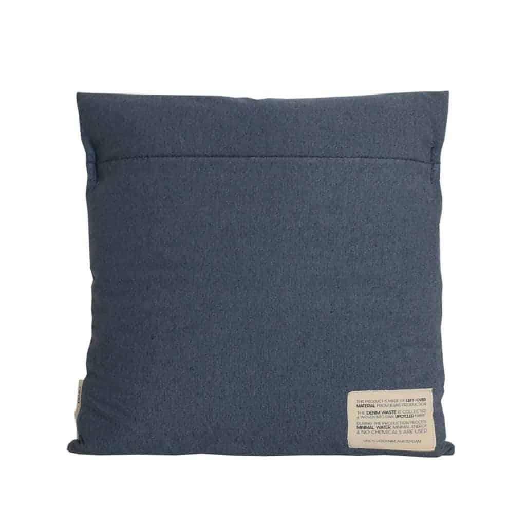 Cushion cover dark blue