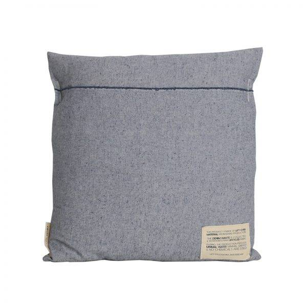 CUSHION COVER SQUARE LIGHT BLUE