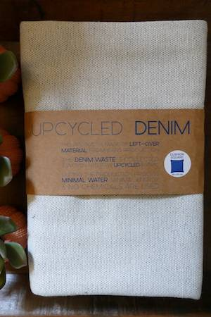 RECYCLED DENIM CUSHION COVER