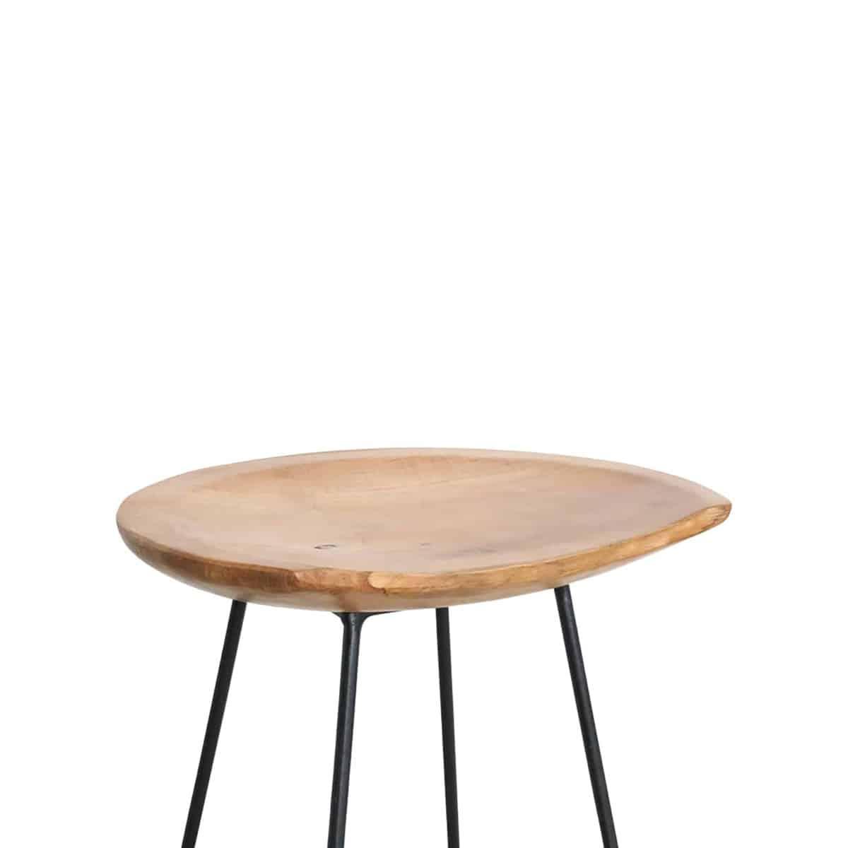 Loft bar stool top