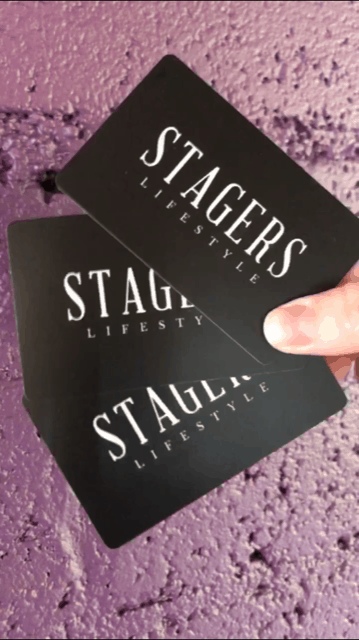 stagers lifestyle business cards