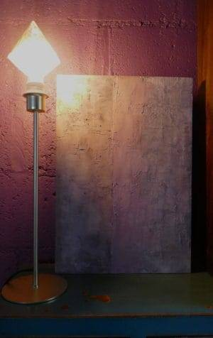 Diamond lamp and painting
