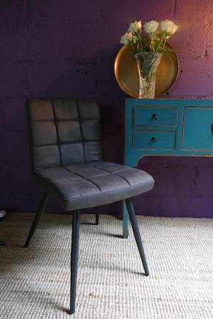 GREY OLIVE DINING CHAIR