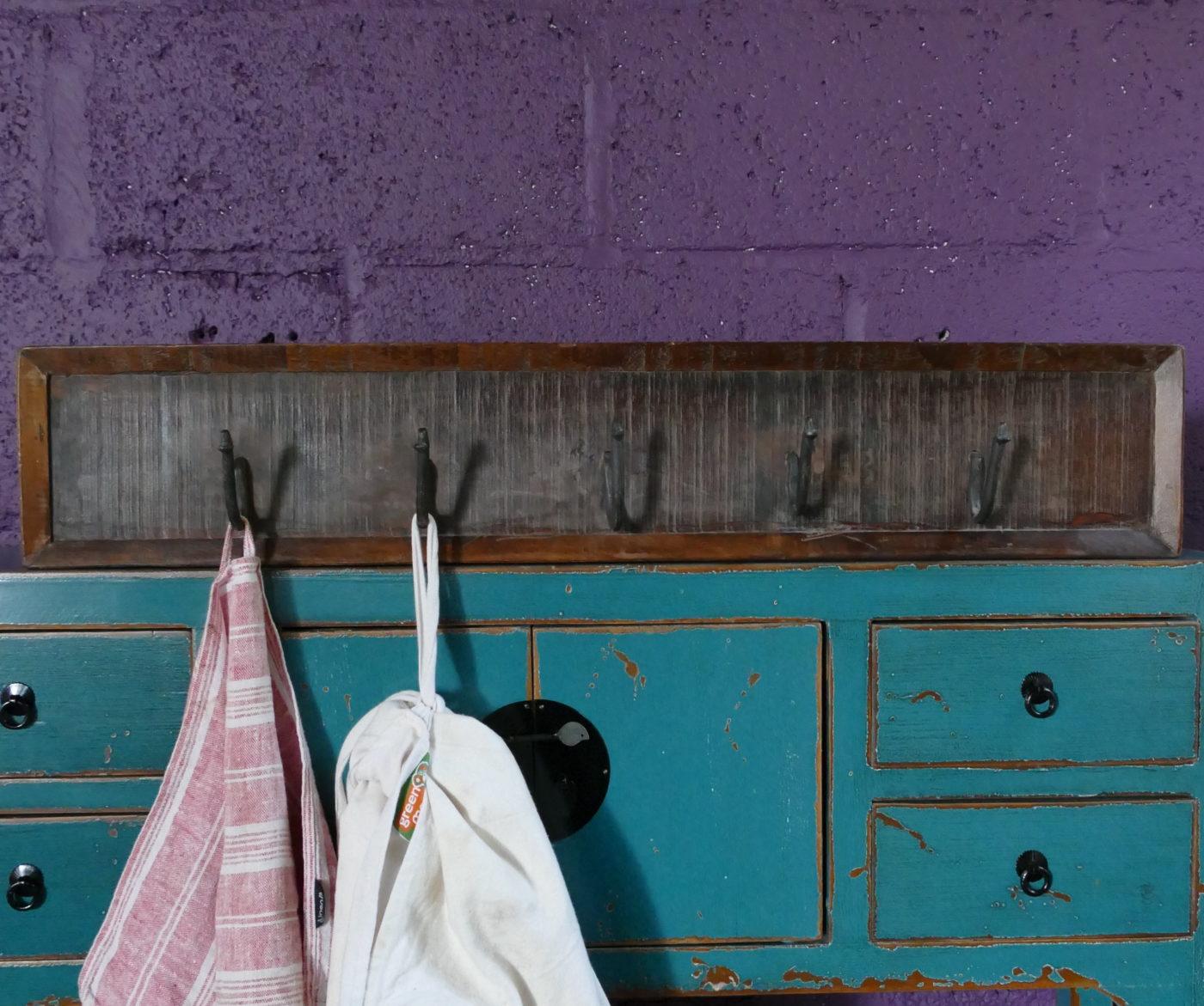 Five Hook Coat Hanger with aprons