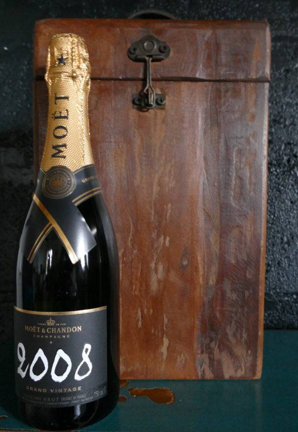 large champagne box