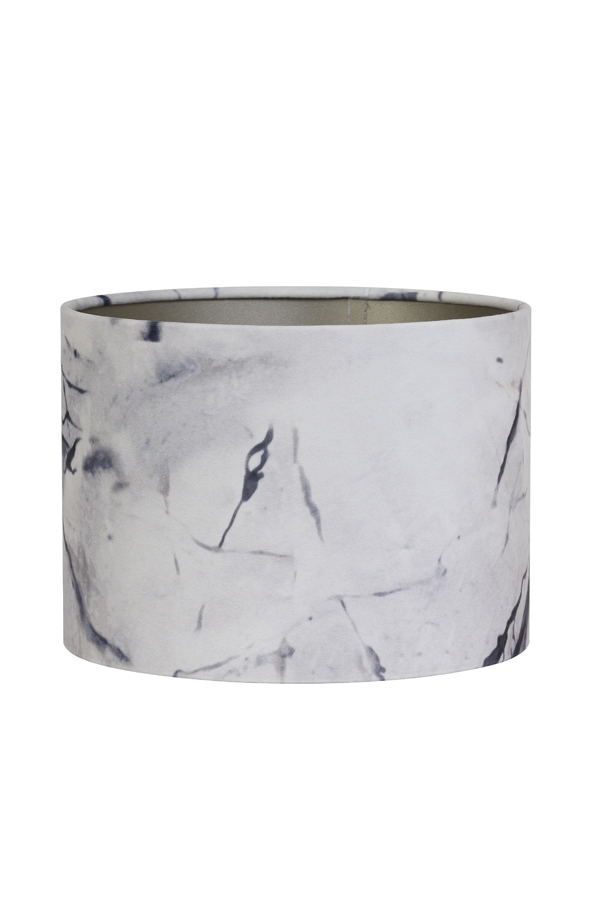 marble effect lamp shade