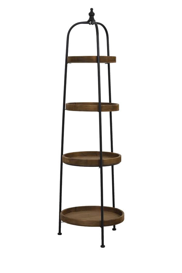 four piece tray rack