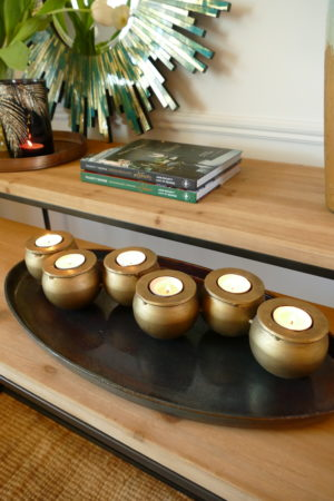 vesta tea light holder on table
