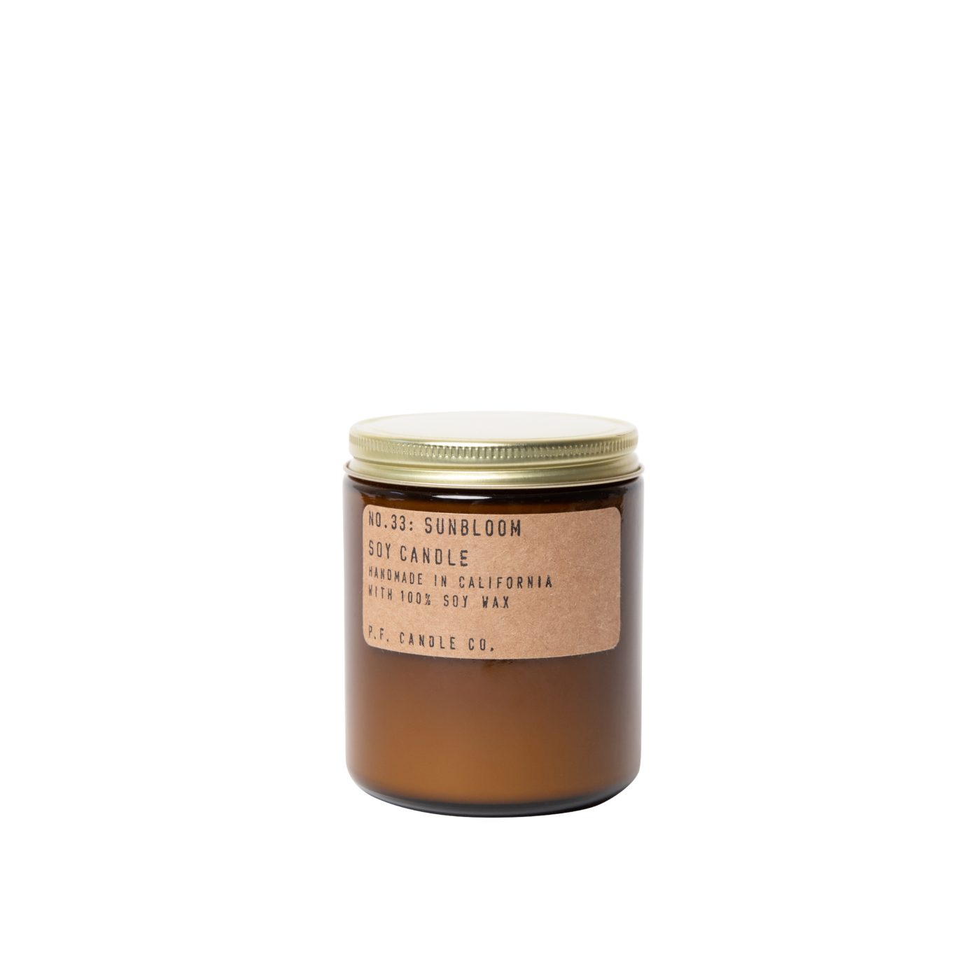 close sunbloom scented candle