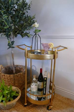 'THE BECCAH' DRINKS TROLLEY