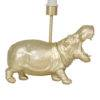 gold hippo lamp right