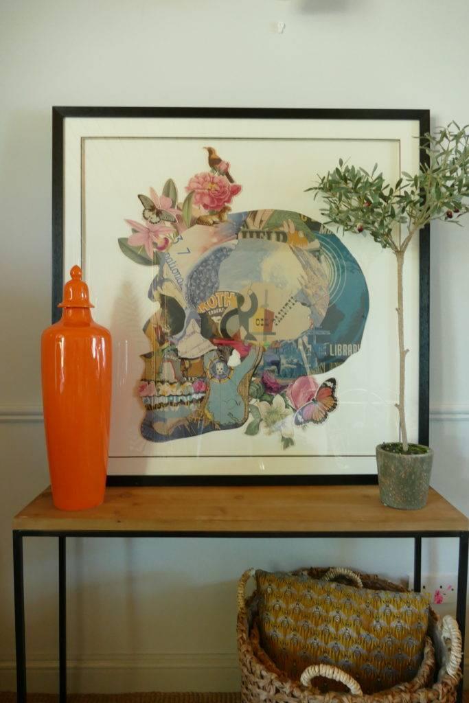 slim jim orange jar and skull picture