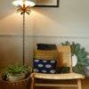 subang rattan lounger with seagrass basket and lamp from stagers lifestyle store