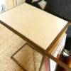 arlo side table marble