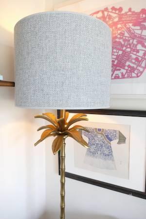 ARMATA BRONZE FLOOR LAMP & SHADE