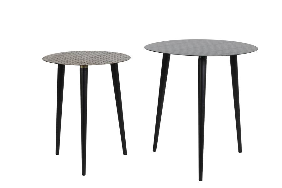 wako side tables from side view