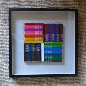 ART ATTACK PICTURE FRAME AGAINST WALL