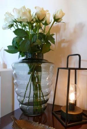 Bee Hive Vase with lantern