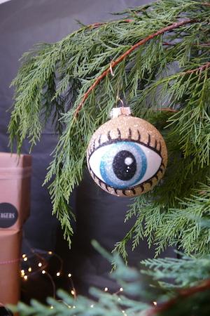 Glitter Eye Bauble