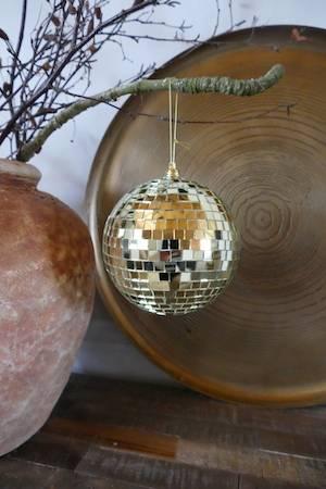 Gold Disco Ball