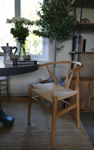 Natural Elm Wishbone Chair