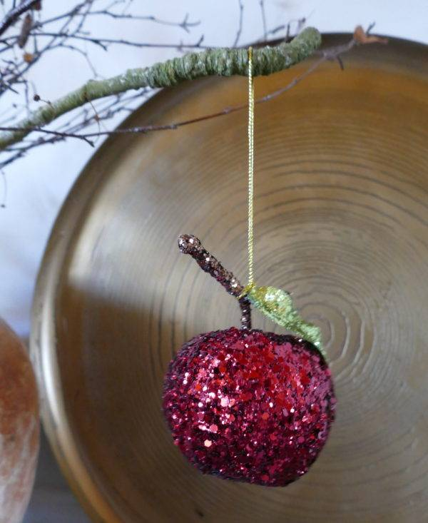 RED APPLE HANGING