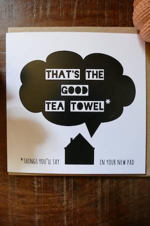 Lainey K - Good Tea Towel
