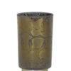 SNAKE PRINT LED LAMP L ON WHITE BACKGROUND