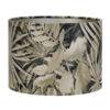 marble floor lamp shade on white background